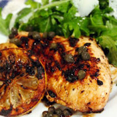 Lemon-Caper Grilled Chicken