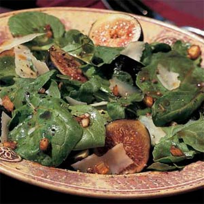 Fig-and-Arugula Salad with Parmesan