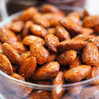 Smoky Candied Almonds