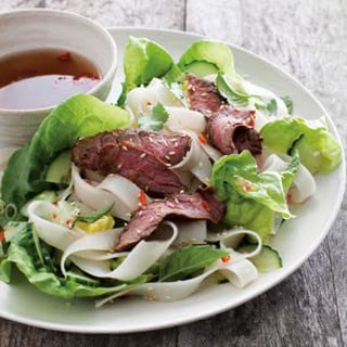 Rice Noodle Salad with Grilled Steak