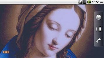 Screenshot of Virgin Mary LWP Free