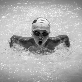 by Earl Masangkay - Sports & Fitness Swimming