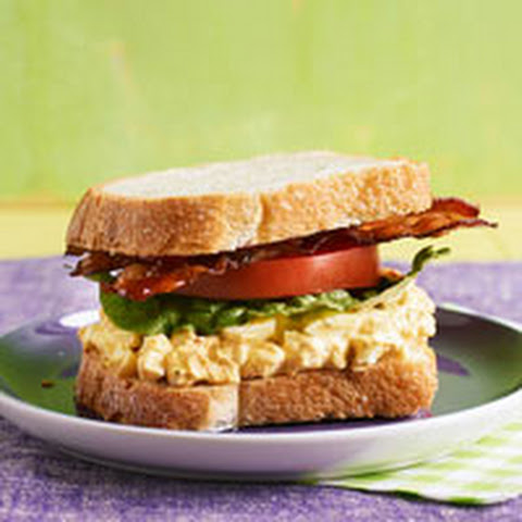 Bacon & Egg Salad Sandwiches Recipe | Yummly
