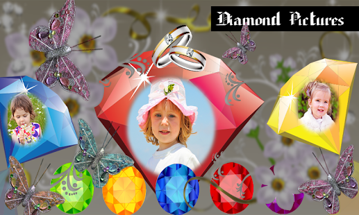 Diamond Photo Frames - screenshot