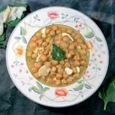 Spanish Chickpeas and Cod (Garbanzos Con Bacalao)