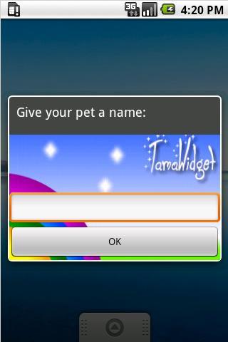 TamaWidget Cat