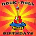 Rock and Roll Birthdays icon