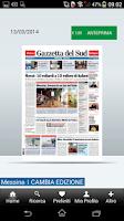 Screenshot of Gazzetta Del Sud
