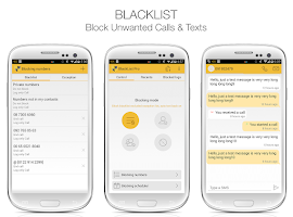 Screenshot of BlackList Pro
