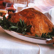 Roast Turkey with Herbed Bread Stuffing and Giblet Gravy