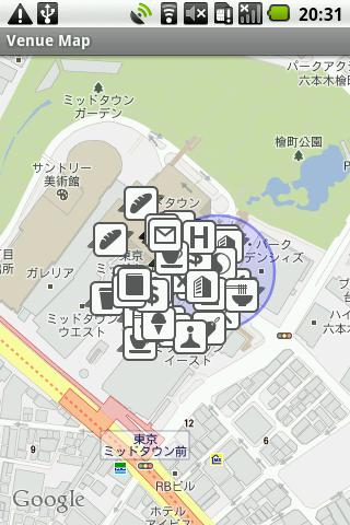 Venue Map for foursquare