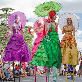 by Melane Strauss - City,  Street & Park  Street Scenes ( carnival )