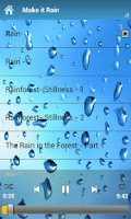 Screenshot of Relaxing Sounds of Rain