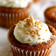 Pumpkin Cupcakes With Maple–Cream Cheese Frosting