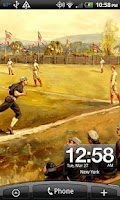 Screenshot of Baseball 1880 Live Wallpaper
