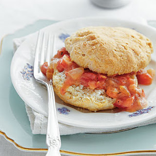 Cat-head Biscuits with Tomato Gravy