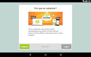 Screenshot of Minhas Economias