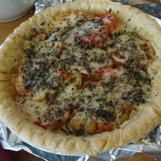 French Tomato Mustard Pie