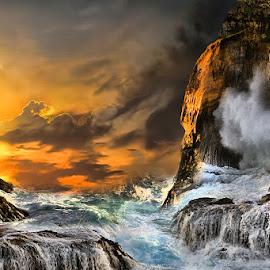 karang bolong  by Abhirama Arro - Landscapes Sunsets & Sunrises