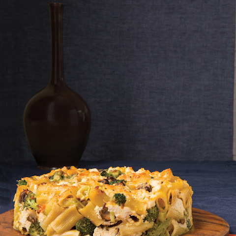 Rigatoni Torte with Ricotta and Fall Vegetables
