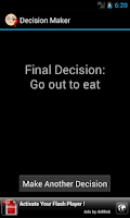 Screenshot of Decision Maker