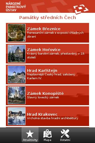 Monuments of Middle Bohemia