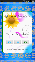 Screenshot of Spiritual Guidance Cards