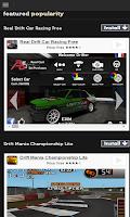 Screenshot of Drift Racing Games