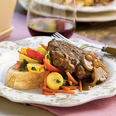 Hamburger Steak With Sweet Onion-Mushroom Gravy