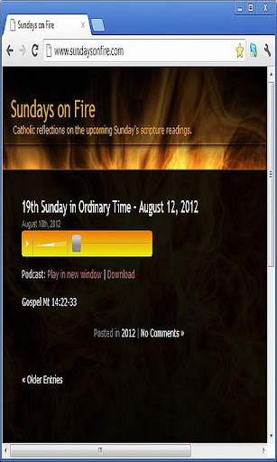 Sundays on Fire