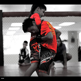 MMA Practice by Russell Harvey - Sports & Fitness Other Sports
