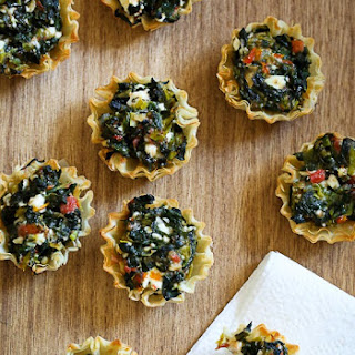 Mini Greek Spinach Pies