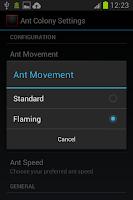 Screenshot of Ant Colony Live Wallpaper