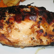 Mongolian Barbecued Breast of Chicken