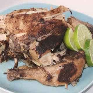 Slow Cooker Caribbean Jerk Chicken
