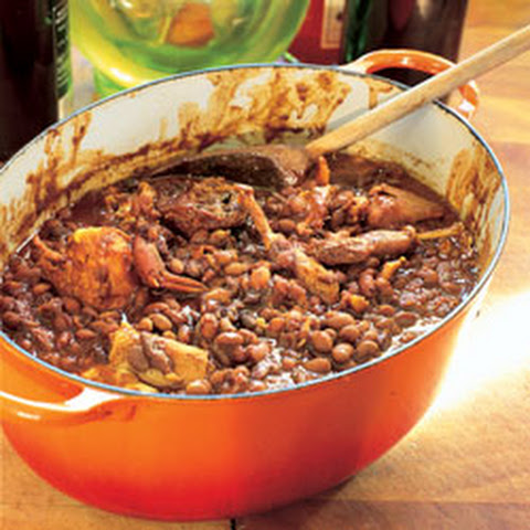 Baked Beans with Partridge