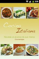 Screenshot of iCocinar Cocina Italia