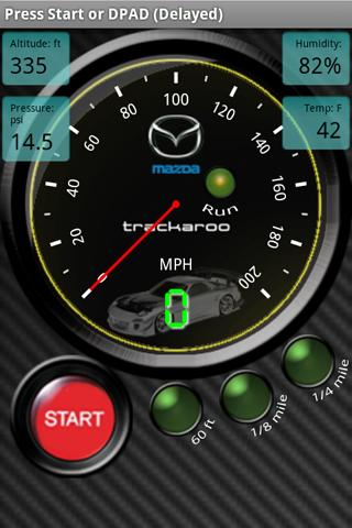 Mazda Speedo Dynomaster Layout