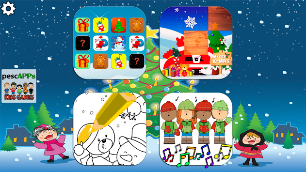 Christmas Games For Kids APK screenshot thumbnail 1