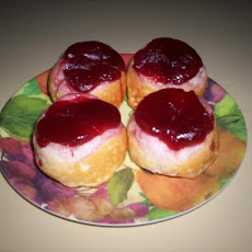 Quick Holiday Cranberry Biscuits