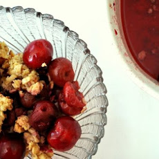 Cherry Breakfast Crumble