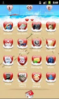Screenshot of Go Launcher Love Theme