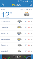 Screenshot of Meteo Life