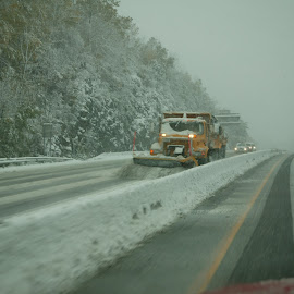 plowing by Alec Halstead - News & Events Weather & Storms ( , snow, winter, cold )