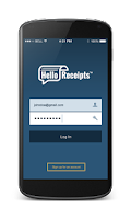 Screenshot of Hello Receipts - Scan Expenses