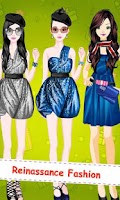 Screenshot of Dress Up! Modern Fashion