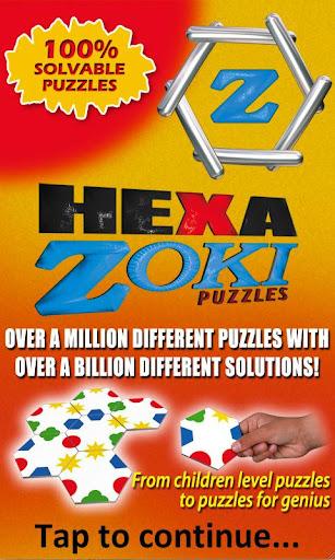 Hexa Zoki Puzzles - Free