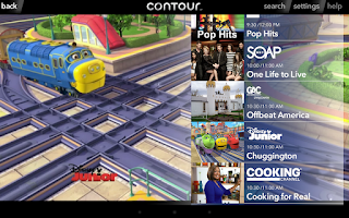Screenshot of Cox Contour