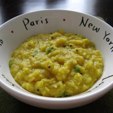 Easy Moong Dal (Mashed Yellow Split Peas)