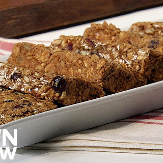 Vegan Chewy Oat Breakfast Bars